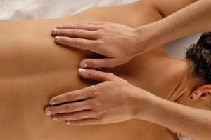 back massage, back pain