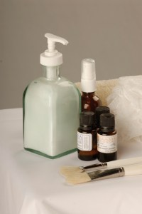 Lotions and Oils enhance massage