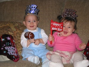 new year babies