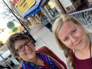 Jane and Monique at CampMinder Camp 10 in Boulder