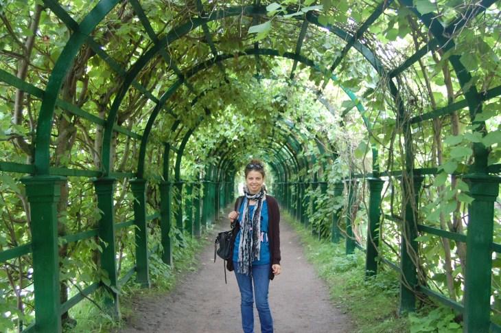 Peterhof sarayı bahçesi