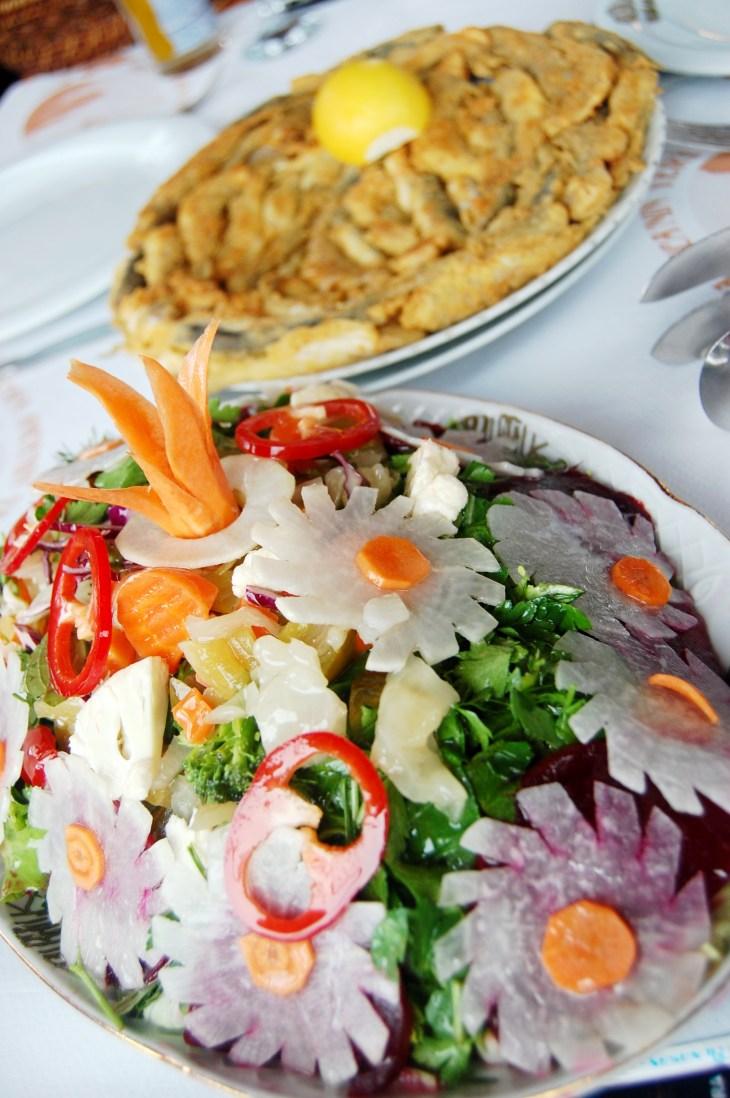 amasra canlı balık salata