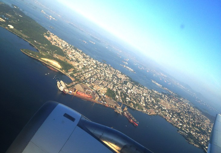 rio de janeiro uçak