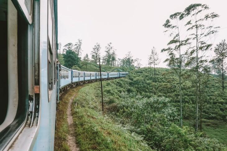 sri lanka tren yolculuğu