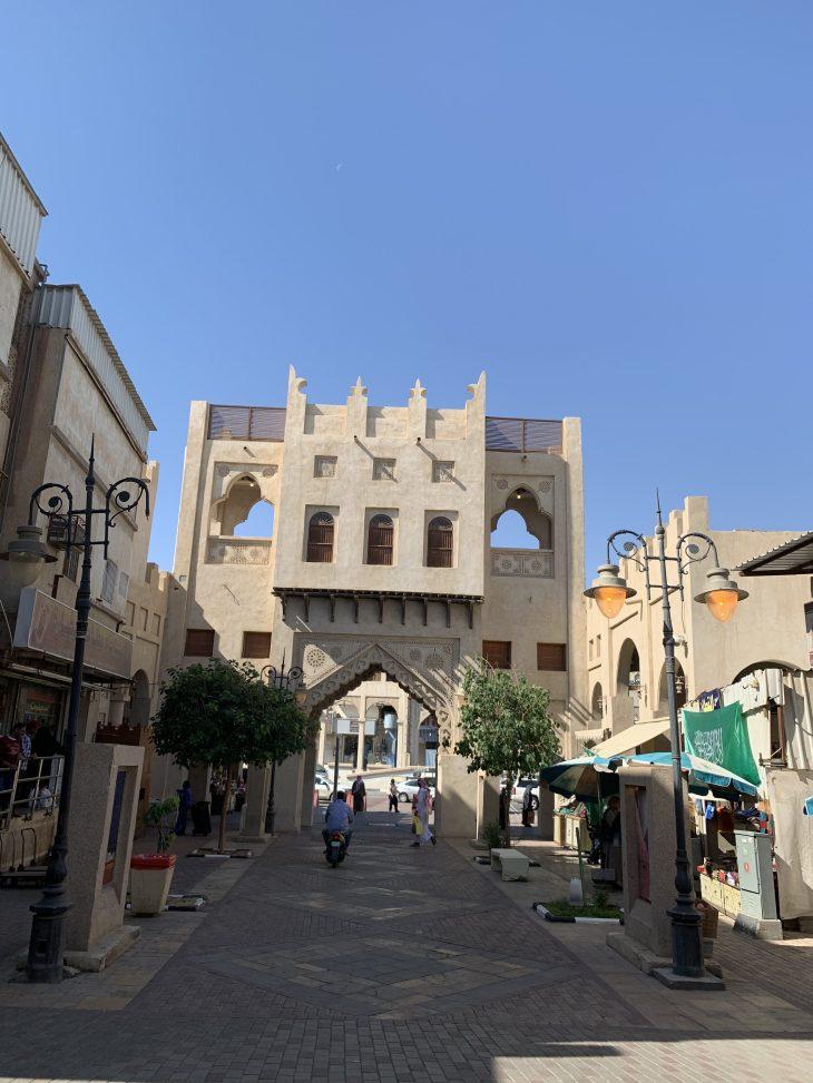 Al Hasa şehrinde bir souq