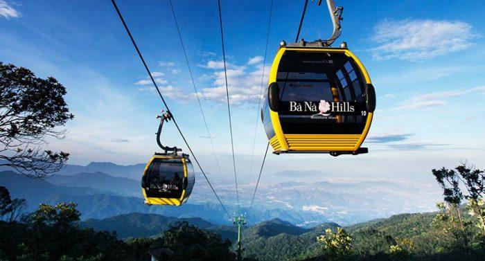 Bana Hill in Danang
