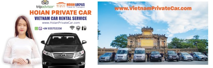 Hoian Private Car service