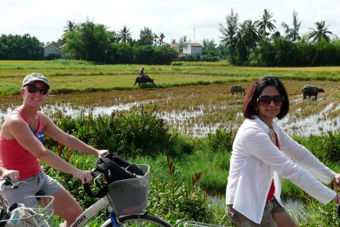 Hoi An countryside on bike