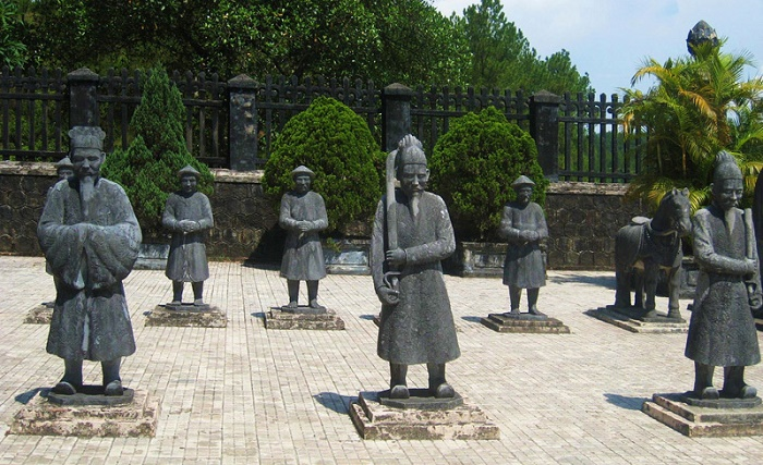 Hue royal tombs half day tour