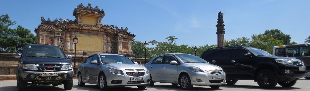 Hoi An Private Car transfer service