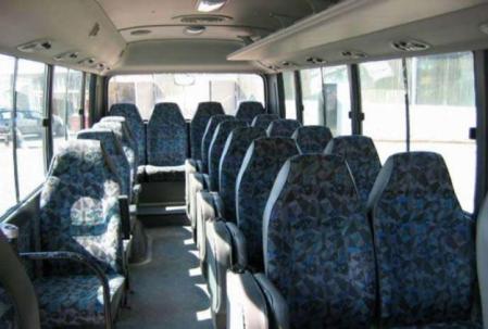 County bus 29 seat-internal