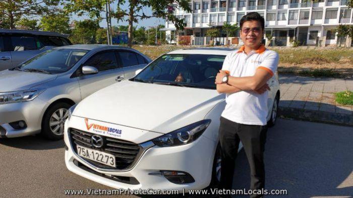 Hoi An Private Car driver Mr Linh