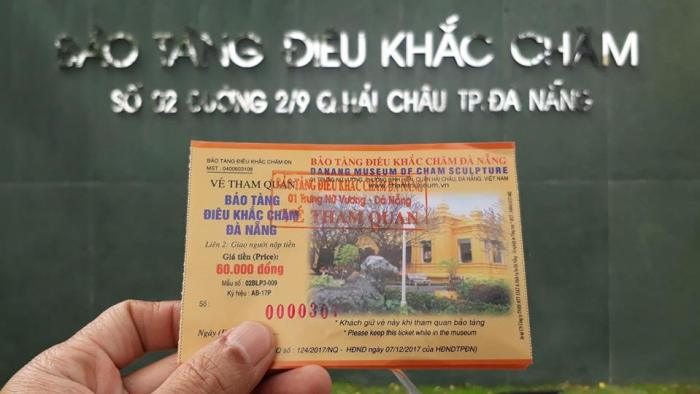 Cham Museum Entrance ticket