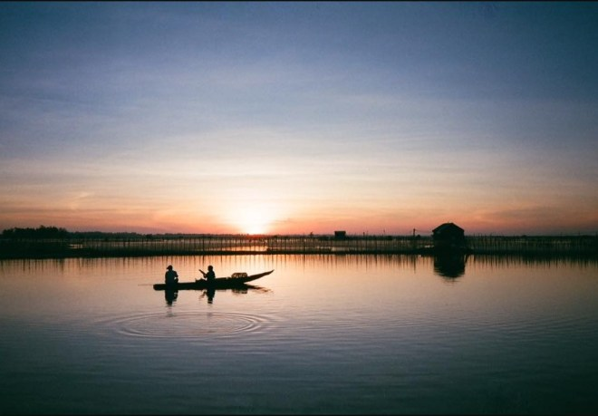 Sunset on Tam Giang Lagoon Tour- Hoi An Private Car