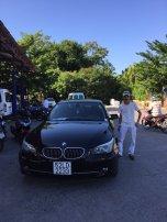 BWM 5300i Hoi An Private Car driver Mr Lau