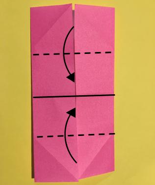 折り紙のメダルの作り方3