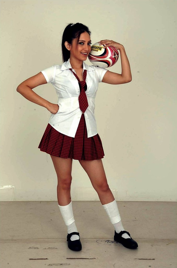 Which Indian actresses look Glamorous in school uniform? 114