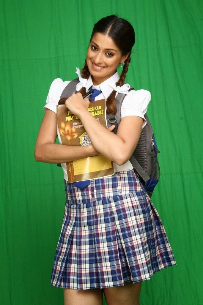 Which Indian actresses look Glamorous in school uniform? 133