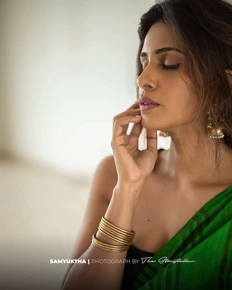 Samyuktha Karthik Wiki, Age, Bio, Movies, Husband, and Beautiful Photos 108