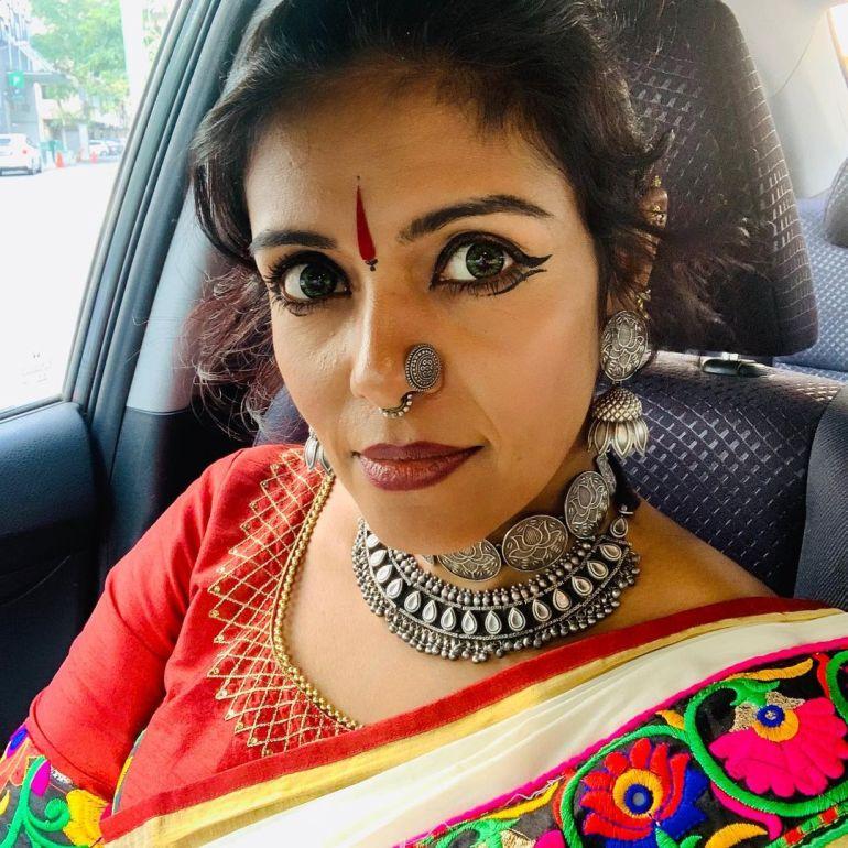 Sandhya Manoj (Malayalam Big Boss Contestant) Wiki, Age, Biography, and Beautiful Photos 108