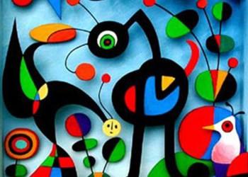 Miró, The Garden