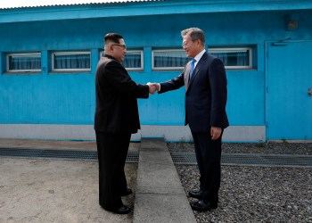 FOTO: Korea Summit Press Pool/Getty Images