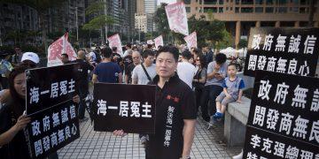 Kou Meng Pok, líder dos lesados do Pearl Horizon. Foto: Sofia Margarida Mota