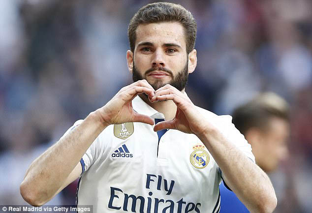 Nacho, jogador do Real Madrid