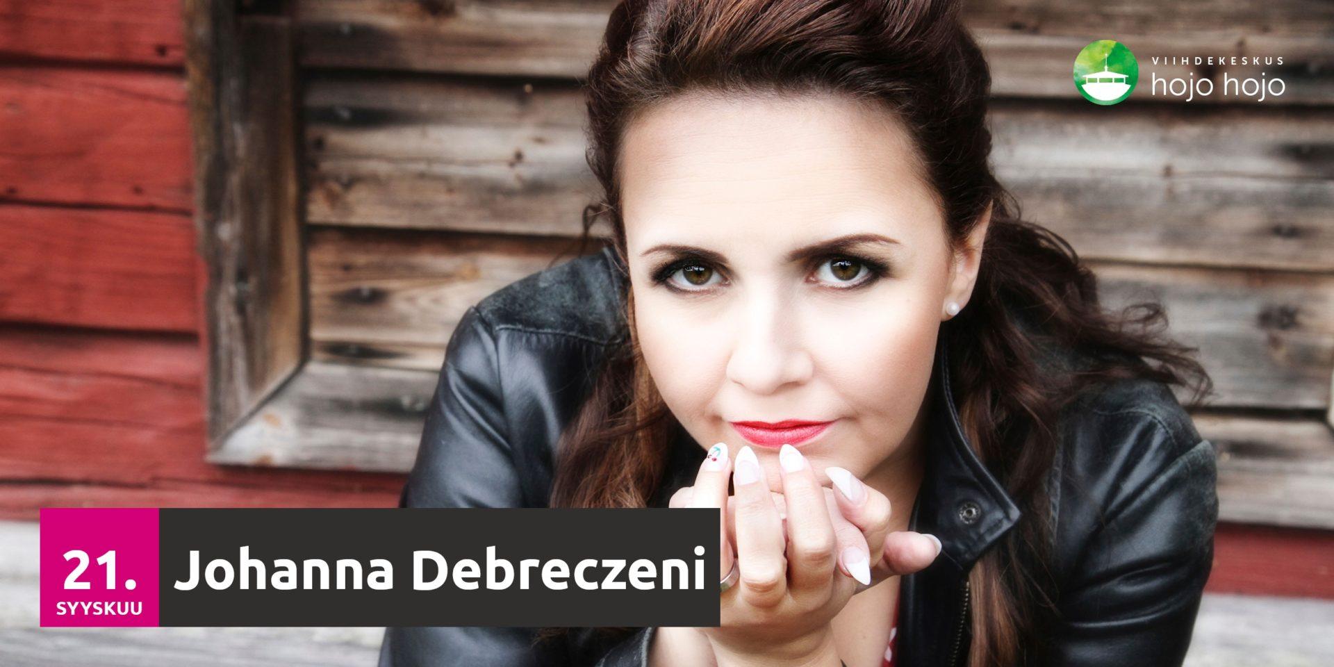 Lauantaina 21.9.2019 Johanna Debreczeni