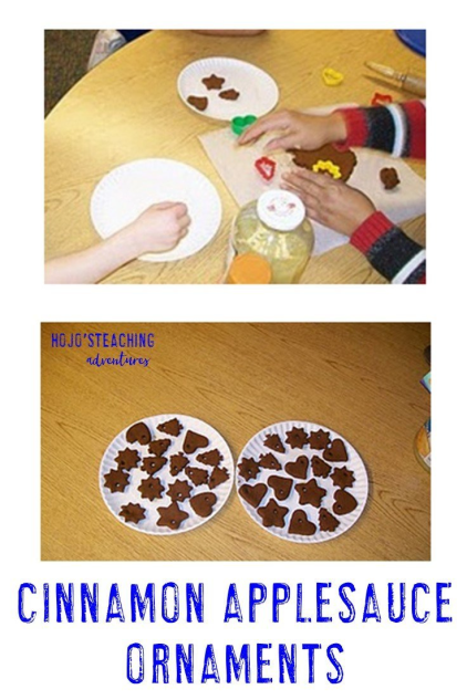Want to make cinnamon applesauce ornaments in your classroom this Christmas season? Click through for some tips from a teacher who did it with her Kindergarten students.