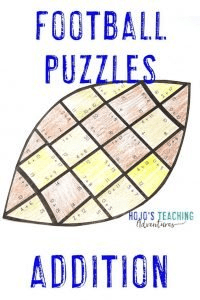 Click to buy Addition Football Puzzles!