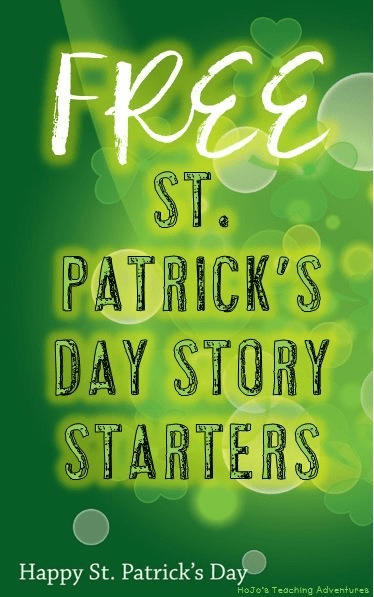 If you're looking for FREE St. Patrick's Day Writing Prompts, this is it! You'll get differentiated versions for grades K-5!