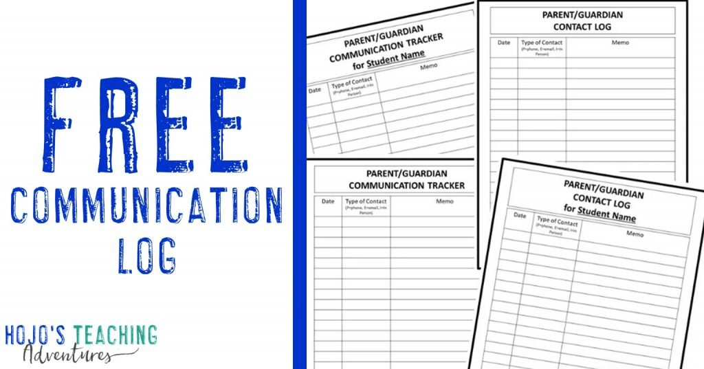 free communication log