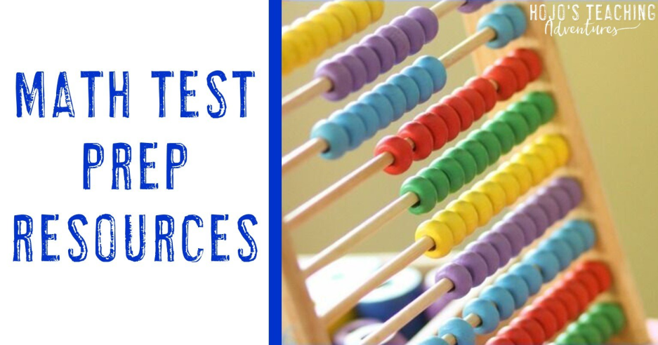 Math Test Prep Products, Ideas, and FREEBIES!