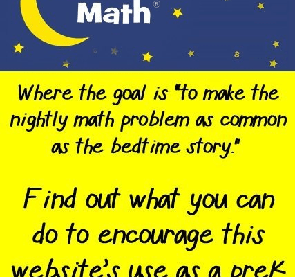 Bedtime Math! The New Storytime?