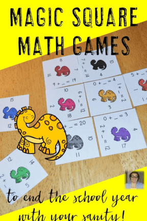 Are you looking for math puzzles to help you get through the end of the school year with your students? Click through to see the great FREE downloads at this post! Perfect for your Kindergarten, 1st, 2nd, 3rd, 4th, 5th, or 6th grade classroom.