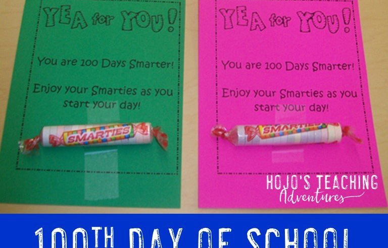 100 Days Smarter! FREE Download for the Classroom