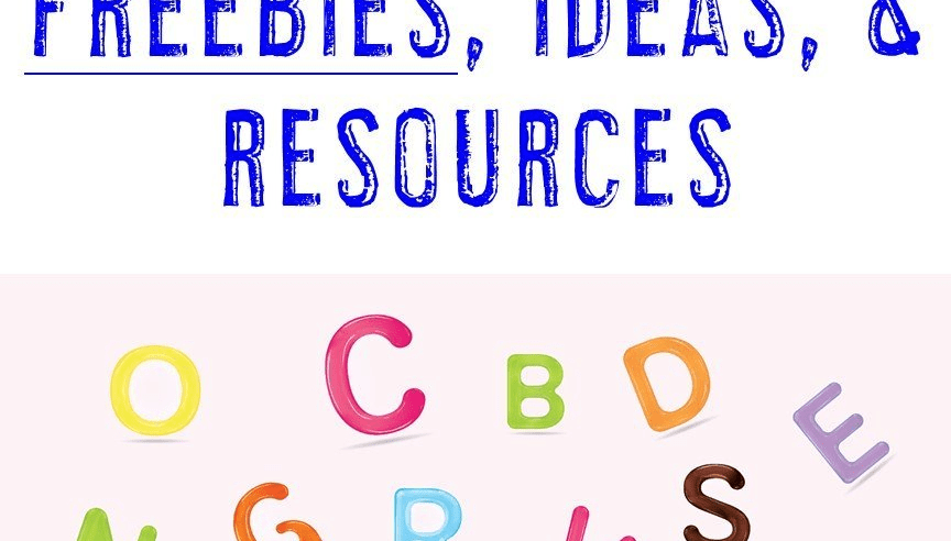 Letter Recognition & Discrimination FREEBIES, Ideas, & Resources