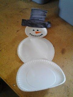 Winter Snowman Art Ideas on HoJo's Teaching Adventures