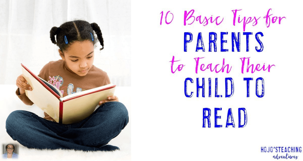 Teachers, are looking for reading tips to share with parents? Then you'll want to check out this list of ten ways they can support their young reader! Click through to see all of them and share these tips in your next newsletter or e-mail home! Great tips for your toddlers, preschool, Kindergarten, and 1st grade students.