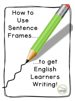 Using Sentence Frames to Get ELL Students Writing