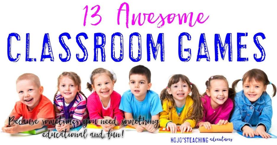 13 Fun Classroom Games