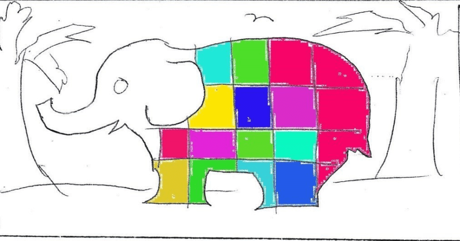 Bring Books to Life: Elmer the Patchwork Elephant