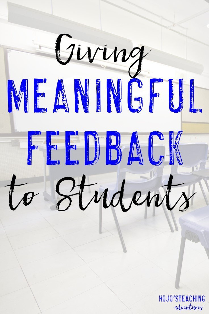 "Giving meaningful feedback to students can be a challenge. However, it doesn't have to be! Do you use ""praise points"" and ""teaching points""? Once you start implementing this simple little strategy into your lessons and conversations with students, you'll find them learning more, being more engaged in learning, AND you'll build strong connections with them!"