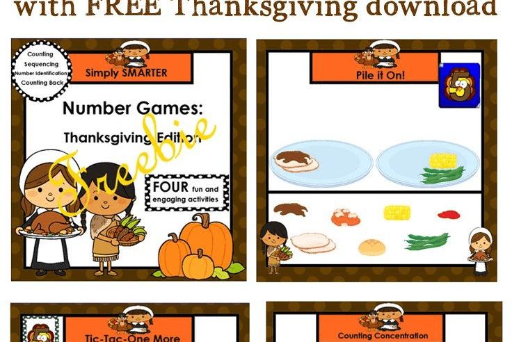 Using SMART Notebook in Kindergarten {with Thanksgiving FREEBIE}