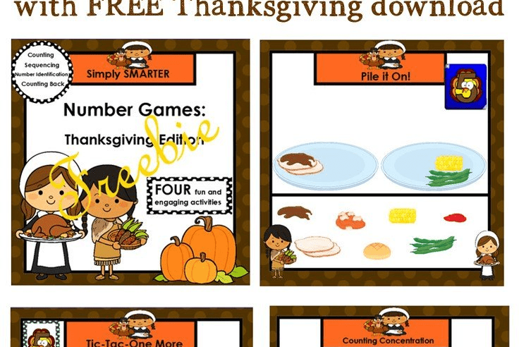 Using SMART Notebook in Kindergarten {with Thanksgiving FREEBIE}