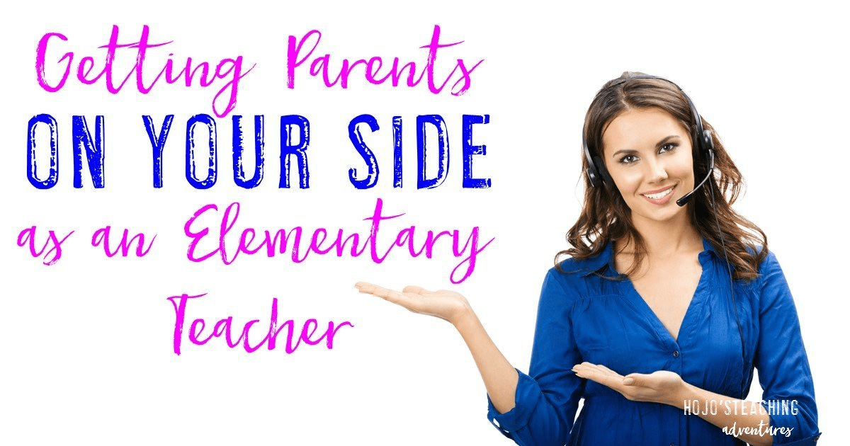 Getting parents on your side does NOT have to be hard as an elementary teacher! Simply use these six steps starting on the first day of school, and you'll find that you have a great relationship with parents, guardians, and families! Great tips for the preschool, Kindergarten, 1st, 2nd, 3rd, 4th, 5th, and 6th grade classroom!