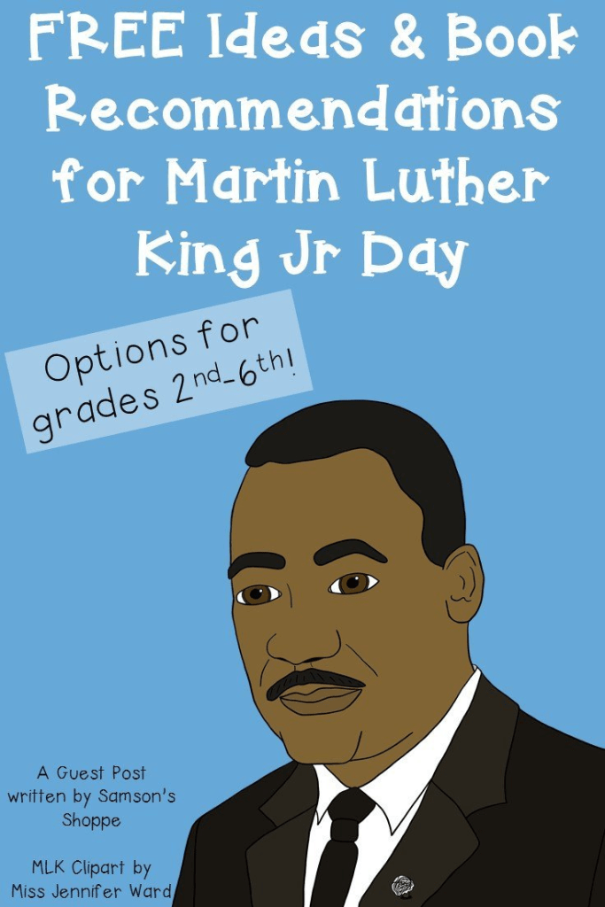 This blog post is full of great ideas to celebrate Martin Luther King, Jr. during the entire month of January! You'll find FREE websites, activities, books to read, and more! It's great ideas for your 2nd, 3rd, 4th, 5th, or 6th grade classroom or homeschool students. Click through to learn more now! {second, third, fourth, fifth, sixth grader}
