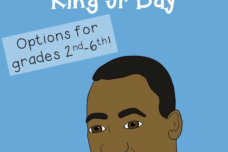 FREE Ideas & Book Recommendations for Martin Luther King Jr Day