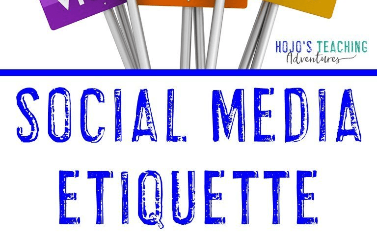 Social Media Etiquette for Teachers